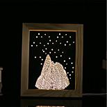1 Set Of 3D Mood Night Light LED Lights USB Bedroom Photo Frame Lamp Gifts Alps