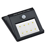1PCS 8LEDs Waterproof LED IP65 Solar PIR Motion Sensor Lights LED Outdoor Wireless Wall Lamp