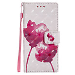 cheap -Case For Sony Xperia XZ Xperia XA1 Card Holder Wallet with Stand Flip Pattern Full Body Flower Hard PU Leather for Sony Xperia XZ Sony