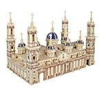 Недорогие -3D пазлы Пазлы Пазлы и логические игры Модель дерева Наборы для моделирования Игрушки 3D Собор Пилар Домики Мода Для детской Горячая