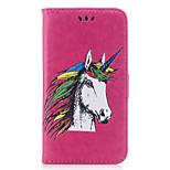 cheap -Case For Huawei P9 Lite P10 Lite Card Holder Flip Embossed Pattern Full Body Unicorn Animal Hard PU Leather for P10 Lite P9 Lite P8 Lite