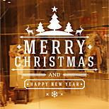 Animals Christmas Words & Quotes Wall Stickers Plane Wall Stickers 3D Wall Stickers Decorative Wall Stickers Wedding Stickers,Paper Vinyl