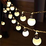 10 LED 1.5M Star Light Waterproof Plug Outdoor Christmas Holiday Decoration Light LED String Light