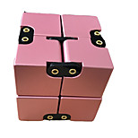 Infinity Cubes Toys Toys Office Desk Toys Stress and Anxiety Relief Square Shape Chrome Places Classic Style Pieces Teen Adults' Gift