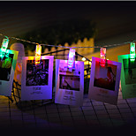 3M  Photo Clip Holder LED String lights For New Year Party Wedding Home Decoration Fairy lights Battery