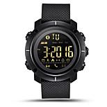 lemfo lf19 reloj inteligente bluetooth impermeable hombres mujeres dispositivos portátiles smartwatch deportes podómetro alarma