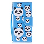 Case For Sony Xperia XA1 Xperia E5 Card Holder Wallet with Stand Flip Pattern Full Body Panda Hard PU Leather for Sony Xperia XZ1 Sony
