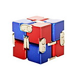 Infinity Cubes Toys Toys Office Desk Toys Stress and Anxiety Relief Square Shape Chrome Places Classic Style Pieces Adults' Gift