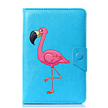 Universal Cartoon Flamingo PU Leather Stand Cover Case For 7 Inch 8 Inch 9 Inch 10 Inch Tablet PC