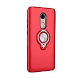Coque Pour Xiaomi Redmi Note 4X Redmi 4X Anneau de Maintien Coque Arrière Couleur unie Dur Polycarbonate pour Xiaomi Redmi Note 4X Xiaomi