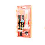 Сотовый телефон Набор инструментов для ремонта 6 в 1 Отвертка Присоска Пластмасса / Stianless Steel Pry Выталкивающая шпилька для сим-карт
