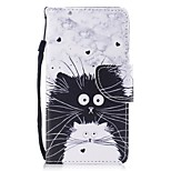 Case For Huawei P8 Lite (2017) P10 Lite Card Holder Wallet with Stand Flip Pattern Full Body Cat Hard PU Leather for Huawei P10 Plus