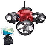 cheap -RC Drone DM107S 4CH 6 Axis 2.4G With 0.3MP HD Camera RC Quadcopter Height Holding WIFI FPV LED Lighting Auto-Takeoff Headless Mode