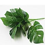 32см 2 шт. 9 голов / ветка черепахи листья домашнее украшение искусственная трава