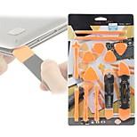 baratos -13 em 1 ferramentas de desmontagem set pry spudger ferramenta de abertura do rolo para iphone 7 6 5 para ipad para o reparo do tablet para