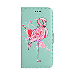 Case For Huawei P8 Lite (2017) P10 Lite Card Holder Wallet with Stand Flip Pattern Full Body Flamingo Hard PU Leather for Huawei P10 Lite