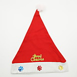 Snowflake Patch Christmas Hat Christmas Ornament