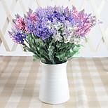 30см 5 шт. 10 голов / ветка лаванды 3 цвета домашнего декора искусственные цветы