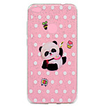 Case For Huawei P8 Lite (2017) P10 Lite Transparent Pattern Back Cover Panda Glitter Shine Soft TPU for Huawei P10 Lite Huawei P9 Lite