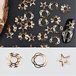 economico -nail glitter art deco / gioielli unghie retrò 0,005 kg / scatola