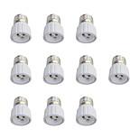 10Pcs E27 to GU10 Quick Bulb Converter Bulb Accessory