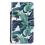 Кейс для Назначение Huawei P8 Lite (2017) P10 Lite Кошелек Бумажник для карт со стендом Флип С узором Чехол дерево Твердый Искусственная