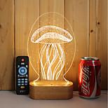 1 комплект из 3-х цельных деревянных светодиодных ламп накаливания с подсветкой