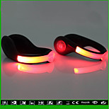 LED USB Shoe Clip Lights Running Lights Non-Rechargeable Models 2 Loaded
