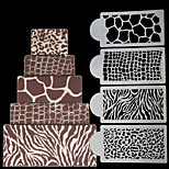 Формы для пирожных Прямоугольный Повседневное использование Пластик Инструмент выпечки