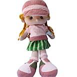 Недорогие -Мягкие игрушки Куклы Игрушки Мультяшная тематика С мультяшными героями Мода Свадьба Милый стиль Для детей Мягкость Свадьба Kawaii