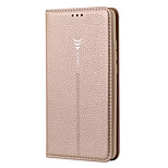Case For Huawei Mate 10 Card Holder with Stand Flip Full Body Solid Color Hard Genuine Leather for Huawei Mate 10