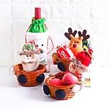 сумка для хранения santa отдых праздник другой кухонный стол / стол рождество для праздничных украшений