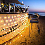 96 LEDs 1.5M x 1.5M LED Net String Light 8 Modes For Christmas Wedding Holiday Decoration