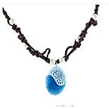 Муж. Жен. Ожерелья с подвесками Геометрической формы Резина Мода Бижутерия Назначение Повседневные