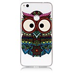 Case For Huawei P8 Lite (2017) P10 Lite Ultra-thin Transparent Embossed Pattern Back Cover Owl Soft TPU for Huawei P10 Lite Huawei P9