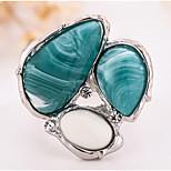 Муж. Жен. Кольцо на кончик пальца Обручальное кольцо Multi-камень Синтетический опал Медь Бижутерия Назначение Свадьба Для вечеринок День