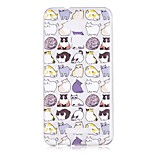 Case For ASUS Zenfone 3 Max ZC553KL Zenfone 3 Max ZC520TL Pattern Back Cover Cat Cartoon Soft TPU for Asus Zenfone 3 Max ZC520TL Asus