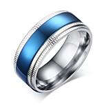 мужская группа кольца моды старинные титановые стали круг ювелирные изделия для свадьбы