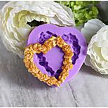 Формы для пирожных Круглый конфеты силикагель Праздник День рождения Новый год День Благодарения