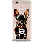 Case For Huawei P8 Lite (2017) P10 Lite Transparent Pattern Back Cover Dog Soft TPU for Huawei P10 Lite Huawei P9 Lite Huawei P8 Lite
