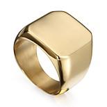 Муж. Массивные кольца Хип-хоп Готика Нержавеющая сталь Геометрической формы Бижутерия Назначение Рождество Для клуба