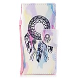 cheap -Case For Sony Xperia XA1 Xperia E5 Card Holder Wallet with Stand Flip Pattern Full Body Dream Catcher Hard PU Leather for Sony Xperia XZ1