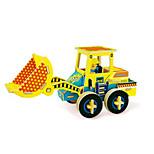 3D Puzzles Excavator Toys Forklift Vehicles Kids 1 Pieces