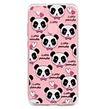 Case For Huawei P8 Lite (2017) P10 Lite Transparent Embossed Pattern Back Cover Panda Soft TPU for Huawei P10 Lite Huawei P8 Lite Huawei