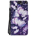 Case For Huawei P8 Lite (2017) P10 Lite Card Holder Wallet with Stand Flip Pattern Full Body Butterfly Hard PU Leather for Huawei P10