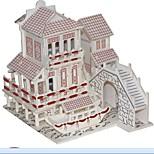 Недорогие -3D пазлы Пазлы Пазлы и логические игры Модель дерева Наборы для моделирования Игрушки Лошадь 3D Домики Мода Для детской Горячая распродажа