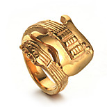 Men's Statement Rings Casual Fashion Hiphop Statement Jewelry Cool Stainless Steel Jewelry Jewelry For Casual Daily Wear