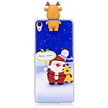 Case For Sony Xperia XA1 Xperia E5 Shockproof Back Cover Christmas 3D Cartoon Soft TPU for Sony Xperia X Sony Xperia XA Sony Xperia XA1