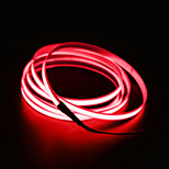 BRELONG 5m  EL LED Neon Cold Strip Light - Car charger