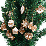 11pcs Christmas Decorations Christmas OrnamentsForHoliday Decorations 5*5*1
